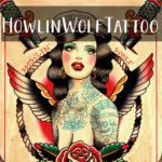 Howlinwolftattoo Image logo artiste